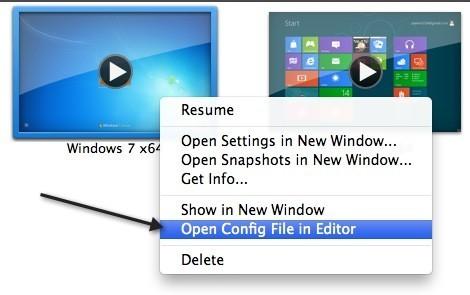 editar archivo vmx