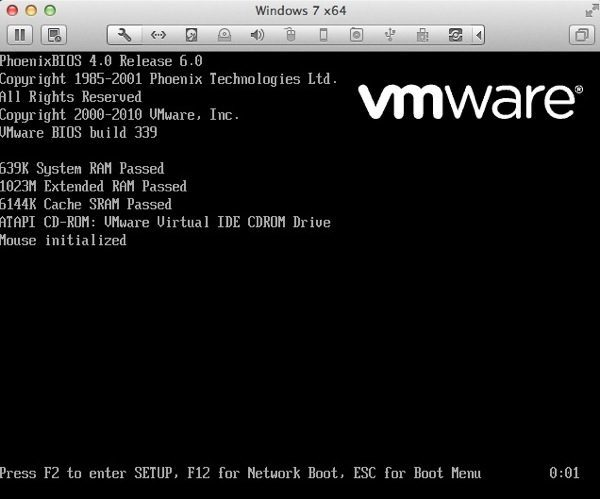 configuración del BIOS