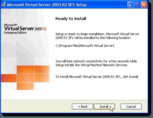 Acuerdo de licencia de servidor virtual de MS