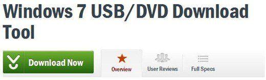 Descarga de DVD USB Win7