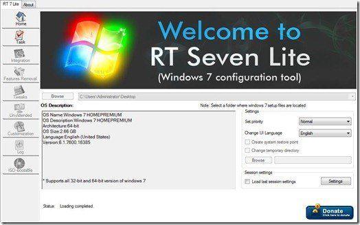 RT Seven Carga completa