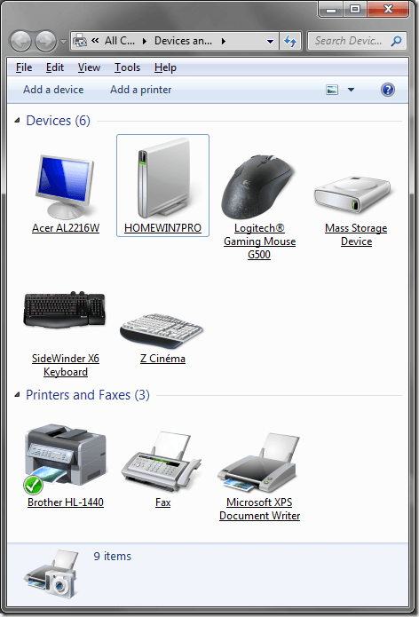 Iconos realistas de Windows 7