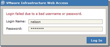 Acceso web a la infraestructura de VMware